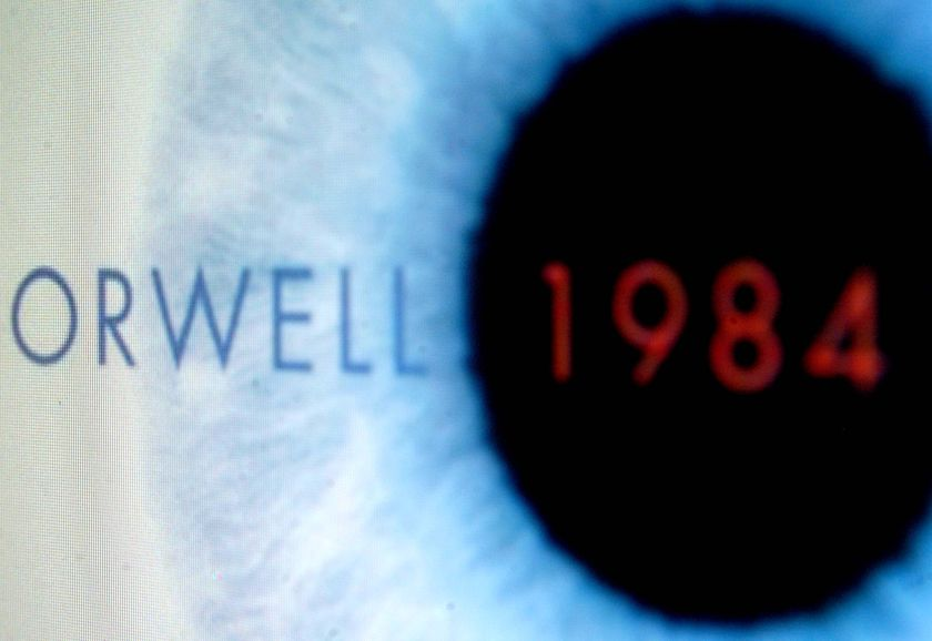 an essay on george orwells novel 1984 and big brother When we talk about works of dystopian fiction, george orwell will  in the world  of 1984, big brother is always watching, whether it's his.